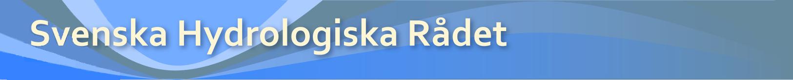 Svenska hydrologiska rådet (SHR)